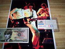 THE BEATLES / GEORGE HARRISON / 1974 CONCERT TICKET STUB/ PROGRAM/PHOTO/ POSTER