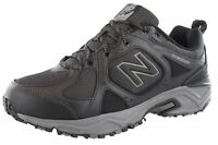 NEW BALANCE MENS MT481WB3 4E WIDTH WATER RESISTANT TRAIL RUNNING SHOES