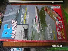 10µµ Revue RC Marine n°161 Plan encarté Le Belgica / Sintra Twin  Laser