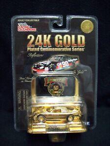Racing Champions 24 Karet Gold Dick Trickle Heilig Meyers Limited Edition Nascar