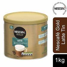 Nescafe Gold Instant Coffee Granules 1kg Latte Low Sugar