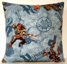 Disney Pirates Of The Caribbean, Logo, Pirates,  Allover Print Cotton Pillow New