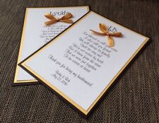 Black And Gold Multicolor Will You Be Bridesmaid Card