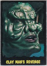 OUTER LIMITS 1964 TOPPS (BUBBLES, INC) VINTAGE CARD #46 CLAY MAN'S REVENGE