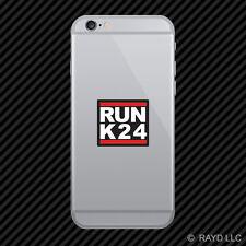 RUN K24 Cell Phone Sticker Mobile f series jdm