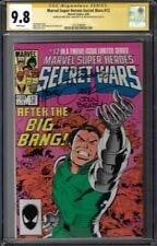 CGC SS 9.8 MARVEL SUPER HEROES SECRET WARS #12 TRIPLE SIGNED SHOOTER BEATTY ZECK