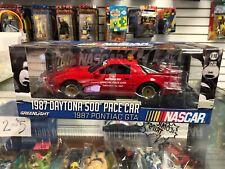 1:18 Greenlight NASCAR 1987 Pontiac GTA Daytona 500 Pace Car S 12858