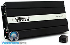 SUNDOWN AUDIO SAE-100.4 4-CHANNEL 600W RMS COMPONENT SPEAKERS TWEETERS AMPLIFIER