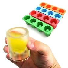 Cup Shape Rubber Shooters ice tool Shot Glass Freeze Tray Maker For Party M M1N9