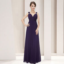 Satin Long Formal Solid Dresses for Women