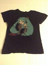 Chibi Hatsune Miku Lean Shirt (Junior L, Used) - Vocaloid