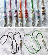 Glass Tibetan Silver Handcrafted Necklaces & Pendants