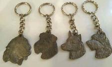 Dog Breed Keychains Afghan, Airedale, Australian Cattledog, Australian Terrier