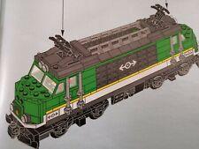 *** Lego City Eisenbahn Lok aus 60198 OHNE Powerup Set ***