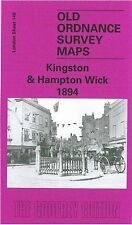 MAPPA di Kingston & Hampton Wick 1894