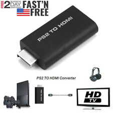 Ps2 to Hdmi Audio Video Converter Adapter Av Hdmi Cable For Sony PlayStation 2