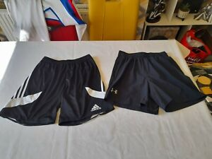 2 Mens Shorts Bundle/1 Under Armour Fitted & 1 Adidas Climalite/Both Size S/GC