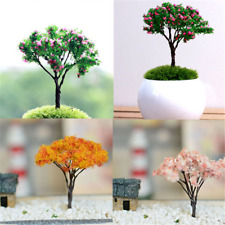 3PCS Cute Mini Tree Miniature Dolls' House Garden Accessory Plant Fairy Ornament