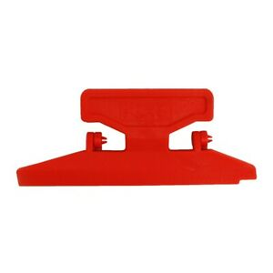 Bohning Pro Class Fletching Jig Straight/Right/Left Clamps - Red