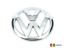 NUOVO Originale VW SCIROCCO 15-17 ANTERIORE + POSTERIORE CROMATO COFANO badge emblemi Coppia Set