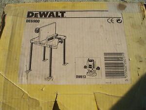 DeWalt De Walt DE6900 Router Table Bench Spindle Moulder PLUS Router Included