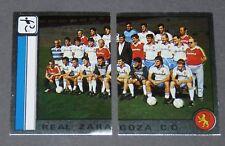 341 342 REAL ZARAGOZA C.D. PANINI LIGA FUTBOL 87 ESPAÑA 1986-1987 FOOTBALL