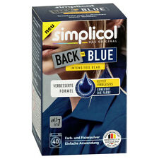 SIMPLICOL BACK TO BLUE Textilfarbe intensives schwarz 400g Farb u. Fixierpulver