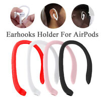 1Pair Earhook Holder For Apple AirPods Strap Silicone Sports Anti-lost Ear Hook