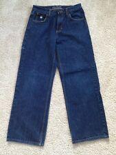 Boy's Rocawear Size 14 Dark, Straight Leg Jeans