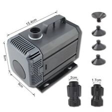 1.8M 24W Submersible Aqua Aquarium Fountain Pond Water Pump For Small Fish Tank