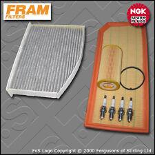 SERVICE KIT VW GOLF MK5 1K GTI EDITION 30 PIRELLI OIL AIR CABIN FILTER PLUG