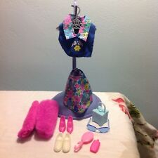 Barbie Doll Authentic Clothes & Accessories ~ Floral Brights 1990's
