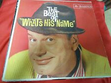 """Great Vintage Hi-Fi LP of the Late Night Show Host JACK PAAR """"What's His Name"""""""