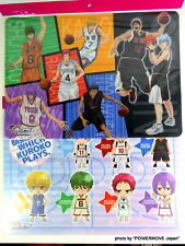 New The Basketball Which Kuroko Plyers Poster Set of 2 Lunch Place mat Rare Kise