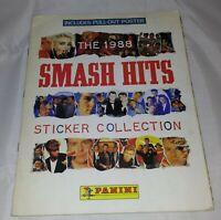 Vintage Panini : Smash Hits 1988 Sticker Album : 100% Complete (Includes Poster)