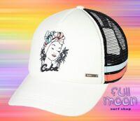 New Roxy Dig This Womens Cuba Trucker Snapback Cap Hat