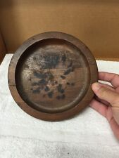Vintage Wood Dish/Bowl Used As Ashtray