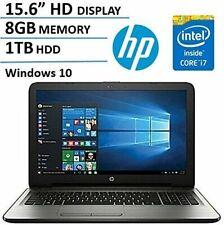 """HP 15.6"""" Laptop Intel Core i7-7500U 8GB RAM 1TB(HP 15-AY163NR)"""