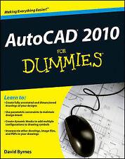 Good, AutoCAD 2010 For Dummies, Byrnes, David, Book