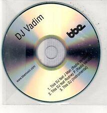 (DD66) DJ Vadim, This DJ ft J Man - DJ CD
