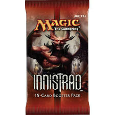 MTG INNISTRAD BOOSTER PACK 5 COUNT LOT FREE SHIP-LOOK FOR SNAPCASTER, CHAPEL