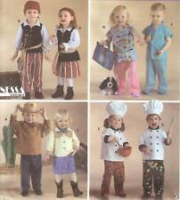 Chef Cowboy costume 2Sew PATTERN Simplicity 3650 Baby Toddler Pirate Dr Dress up