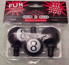 Eight Ball Drum Nutz Cymbal Wing Nut topper NEW Exclusive Product 6mm 8mm