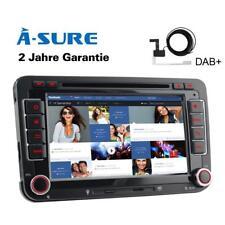 "7"" GPS DVD DAB für VW Passat B6 B7 Golf 5/6 Tiguan Touran Caddy Polo Sharan T5"
