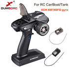 DumboRC X6 6CH Transmitter 2.4G With X6F/X6F Gyro Receiver For RC Car Boat Tank