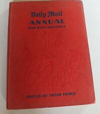 Daily mail annual for boys and girls with colour plates by Eric Hodkings