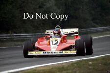 Gilles Villeneuve Ferrari 312 T3 Belgian Grand Prix 1978 Photograph 2