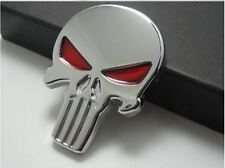 Halloween 3D Skull Car Sticker Metal Ghost for Cars & Bikes