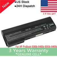 9Cell Battery for HP ProBook 6360b 6460b 6465b 6470b 6475b 6560b 6565b 6570b F