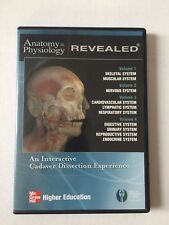Anatomy & Physiology Revealed 2007 McGraw-Hill Cds 1-4 Vol Interactive Cadaver